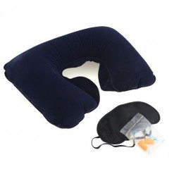pillow eye mask and ear plugs
