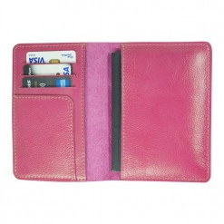 Fuschia Traverse Travel Wallet - Inside