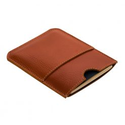 Angled front view of Wander passport holder